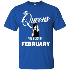 Rihanna Tshirts Queens Are Born In February Shirts Hoodies Sweatshirts
