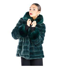 Fontana 2.0  - giacca donna in morbidissima eco-pelliccia  - collo alla coreana…
