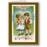Love's Greeting Old Fashioned Valentine Greeting Cards