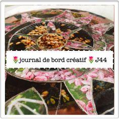 La parenthèse inattendue Journal de bord créatif🌷J44 Aujourd'hui, on se remet en ordre ! ...  ✨ mandala collage ✨émotions  Piper ✨