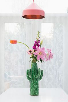 Serax cactus vaas, by zilverblauw.nl