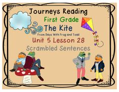 The Kite from Days with Frog and Toad Journeys First Grade Unit 5 Lesson 28…