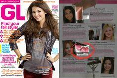 Round Lipstick @ Girl's Life Magazine
