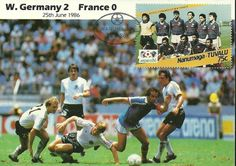 mexico 86 world cup finals 1986 #Football match postcard west germany france from $5.01