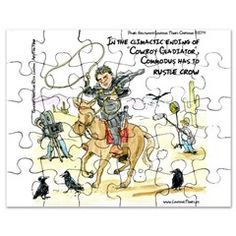 #Gladiator The #Film #parody #cartoon #JigsawPuzzle @cafepress @LTCartoons #sale #gift #humor @pinterest #offbeat #film