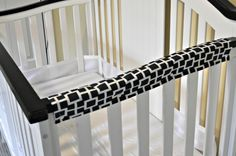 Crib Rail Cover / Teething Pad Tutorial