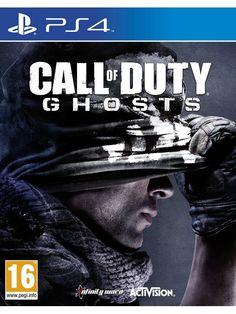 Игра Call of Duty: Ghosts за PS4