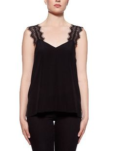 DETAILS This light washed silk crepe de chine Cami is a lightweight, classic and timeless staple item to be mixed and matched with the rest of your wardrobe....