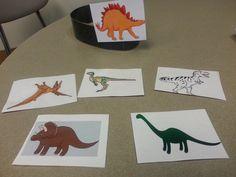 Rock Chalk Speech Talk: Dino Describing! A DIY activity