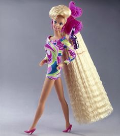 Totally Hair Barbie (1992) is the best-selling Barbie doll ever. | 18 Surprising Things You Don't Know About Barbie
