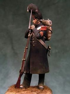 Old guard grenadier 1812 - Bill Horan
