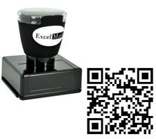QR code stamp. Would be awesome to put on wedding invitation insert, linking it to the wedding website or map to the venue or something cool like that.