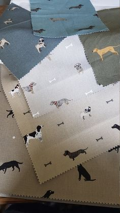 Sophie Allport fabric made to measure Roman Blind dogs print Runner Ducks, British Home, British Standards, Spaniel Dog, Roman Blinds, Woodland Party, Beading Supplies, Child Safety, Textiles