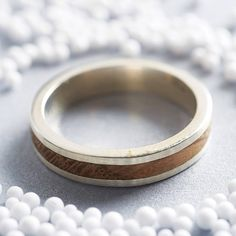 native silver and wood ring by shiruba tree | notonthehighstreet.com
