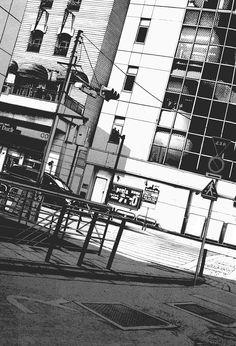 """気; """"I came to a point where I needed solitude and just stop the machine of 'thinking' and 'enjoying' what they call 'living', I just wanted to lie in the grass and look at the clouds.""""  —  Jack Kerouac"""