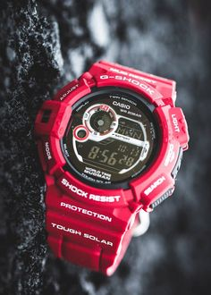 G-Shock G9300 Red