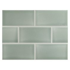 """Complete Tile Collection  - Vermeere Ceramic Tile - Caribbean - Crackle, 3"""" x 6"""" Manhattan Ceramic Subway Tile. All of the ceramic glazes are sprayed by hand, which produces slight color variation on the surface of the tile and gentle pooling on the edges. Uses are: Kitchen walls, backsplash, showers and bathroom walls.  MI#: 199-C1-312-481, Color: Caribbean"""