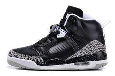 low priced 7b878 7a0ca Black Nike Shoes Mens Air Jordan 3.5 Spizike Oreo Geay Hot,  87.76 Jordan  Retro 3