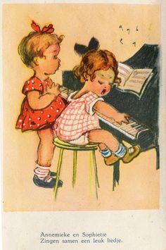 vintage postcard from janwillemsen, via Flickr