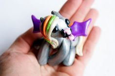 Halloween Pony Colorful Bat Pony by TumbleCreatures on Etsy