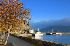 Carlingford and the Cooley Peninsula, Co. Louth, Ireland, located just over an hour's drive from Ireland's two major cities of Dublin and Belfast