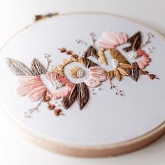 images of hand embroidery patterns - images of hand embroidery pattern Floral Embroidery Patterns, Creative Embroidery, Learn Embroidery, Hand Embroidery Stitches, Modern Embroidery, Embroidery For Beginners, Crewel Embroidery, Embroidery Hoop Art, Hand Embroidery Designs