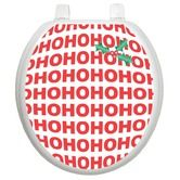 Found it at Wayfair - Holiday Toilet Seat Applique with Santa's Laughter Design