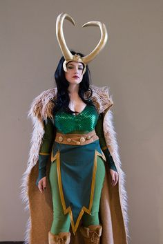 Halloween costume ideas: Lady Loki.