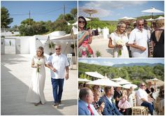 Catherine and Neil's White Turquoise and Mint Ibiza Wedding. By Gypsy Westwood