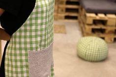 Tuto : un tablier de cuisine en tissu