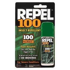 Repel 100 Insect Repellent 100 DEET 1 fl oz 295 pk * Find out more about the great product at the image link. Aquaponics Diy, Aquaponics System, Bug Control, Pest Control, Mosquito Control, Mosquito Protection, Sprays, Lawn And Garden, Gardening