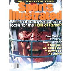 Dan Marino Miami Dolphins Fanatics Authentic Autographed Sports Illustrated HOF Lock Magazine - $159.99