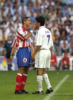 Simeone vs Raul Atletico de Madrid vs Real Madrid derbi madrileño Club  Atlético De Madrid ac51da88722