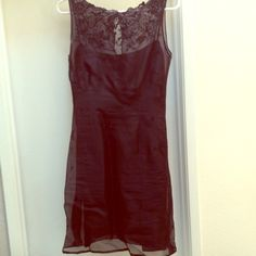 Little Black Dress Beautifully detailed little black dress from Ann Taylor. Has been altered from a size 10 down to a 4. Ann Taylor Dresses