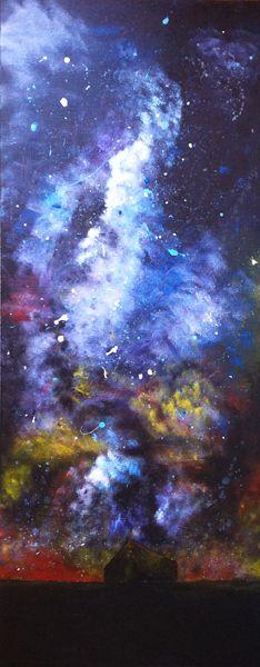Milky Way in acrylic