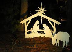 Large Outdoor Nativity Set - MyNativity.com
