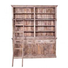 Un\'insolita cassettiera in legno con inserti di pelle. | PRODOTTI ...