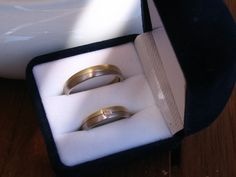 Our wedding bands, bought on Crete and engraved in Greek too!