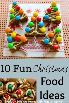 10 Fun Christmas Food Ideas