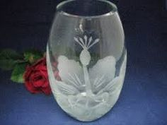 hawaiian etched glassware