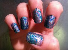 Holographic water marble