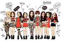 Image result for twice drawing