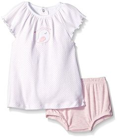Rene Rofe Baby Baby 2 Piece Sundress Set with Diaper Cover Lovebird 03 Months ** Check out this great product. (This is an affiliate link) #BabyGirlDresses