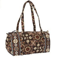 Vera Bradley Brown Canyon Small Duffel Bag