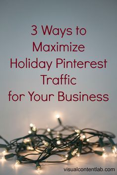 Great ideas for making the most of Pinterest this holiday season. #pinterest #marketing Way To Make Money, How To Make, Pinterest Marketing, Weight Loss, Seasons, Business, Health, Holiday, Ideas