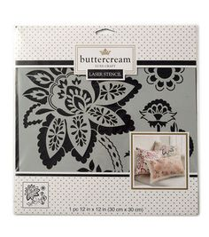 Buttercream™ Collection Large Stencil-Paisley Blossom