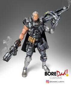 Custom Action Figure Marvel Legends Cable