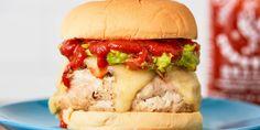 Best Sriracha Turkey Burger Recipe - Best Burger Recipes - Delish.com