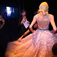 Backstage - Spring Summer 2015 - Couture