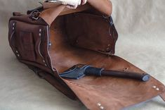 Your place to buy and sell all things handmade Vintage Leather Backpack, Leather Laptop Backpack, Laptop Rucksack, Men's Backpack, Hiking Backpack, Laptop Bags, Brown Backpacks, Vintage Backpacks, Leather Backpacks